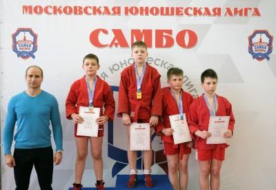 Московская юношеская лига: Первенство МГФСО Москомспорта по самбо  (21 марта 2021 года)