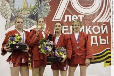 Чемпионат России посамбо вСанкт-Петербурге