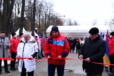 """Памятник основоположникам самбо открыли в """"Лужниках"""""""
