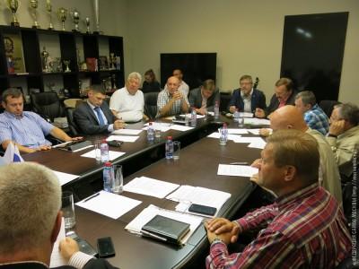 Заседание Президиума Федерации самбо Москвы