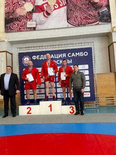 Открытый чемпионат Москвы 2021 года по самбо среди мастеров (13 марта 2021 года)
