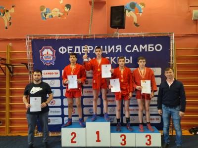 Первенство Москвы по самбо среди юношей и девушек 12-14 лет (15-16 мая 2021 года)