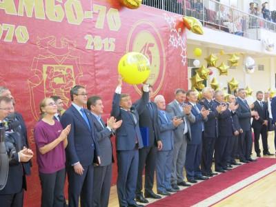 Турнир «Кубок легенд» в«Самбо-70»