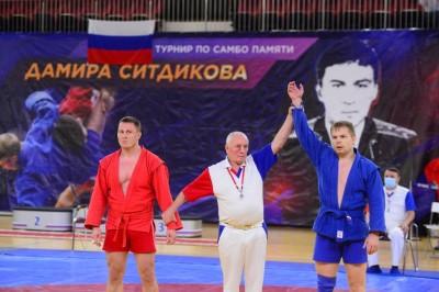 Открытый Кубок Москвы по самбо среди мастеров