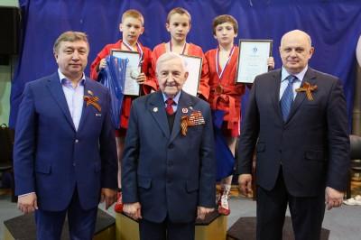 Открытый Турнир РОО «Динамо-24» посамбо, посвященный 70-летию Великой Победы