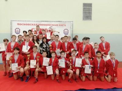 МЮЛ: XI Открытое Первенство МГФСО по самбо среди юношей 2009-2010, 2008-2007 (25 апреля 2021)