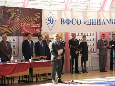 Чемпионат ГУМВД России побоевому самбо