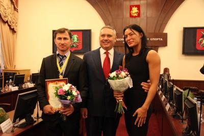 Церемония награждения вМоскомспорте