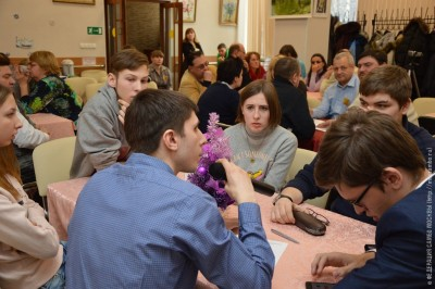 Слабовидящие самбисты на«Кубке интеллектуального содействия искусствам»