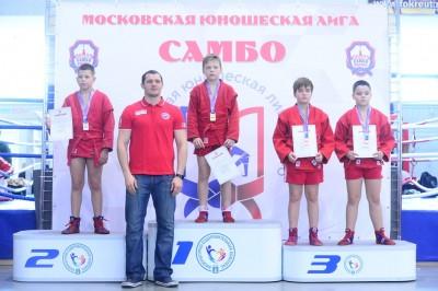Московская юношеская лига: турнир по самбо среди юношей 2009-2010, 2007-2008 гг.р.
