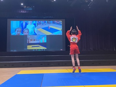 Онлайн-турнир по ДЕМО-самбо и ОФП, посвященный Дню защитника Отечества