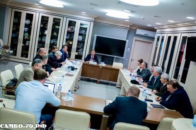 Заседание Президиума ФСМ
