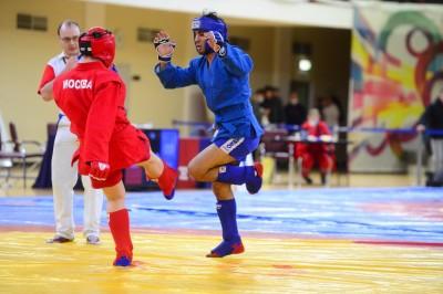 Чемпионат Москвы 2020 года по боевому самбо