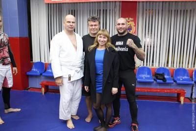 Мастер-класс Сергея Громова иОлега Тактарова вклубе «Самбо-70»
