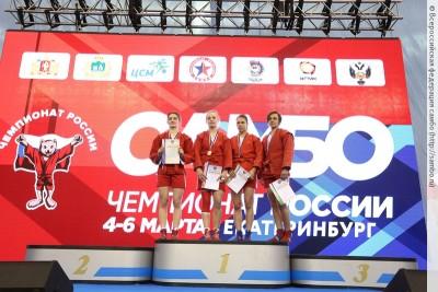 Чемпионат России посамбо