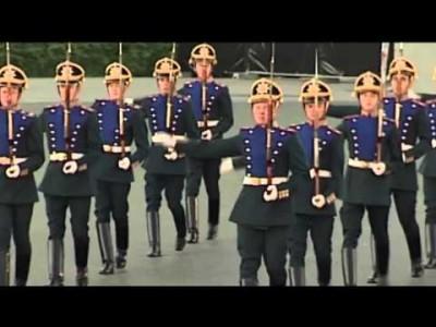 Спортивное мероприятие вчесть 80-тия президентского полка