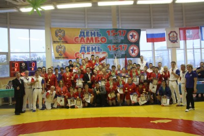Кубок посамбо Департамента образования Москвы
