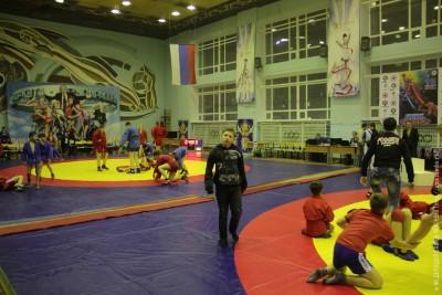Мастер-класс Сергея Громова вВоркуте вДень самбо