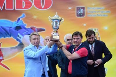 Командный чемпионат России поборьбе самбо среди мужчин