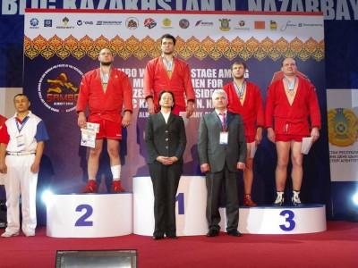 Этап кубка мира посамбо напризы Президента Казахстана