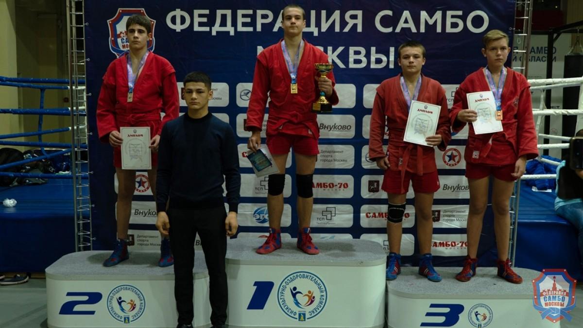 Осенняя серия Московской юношеской лиги самбо стартовала!