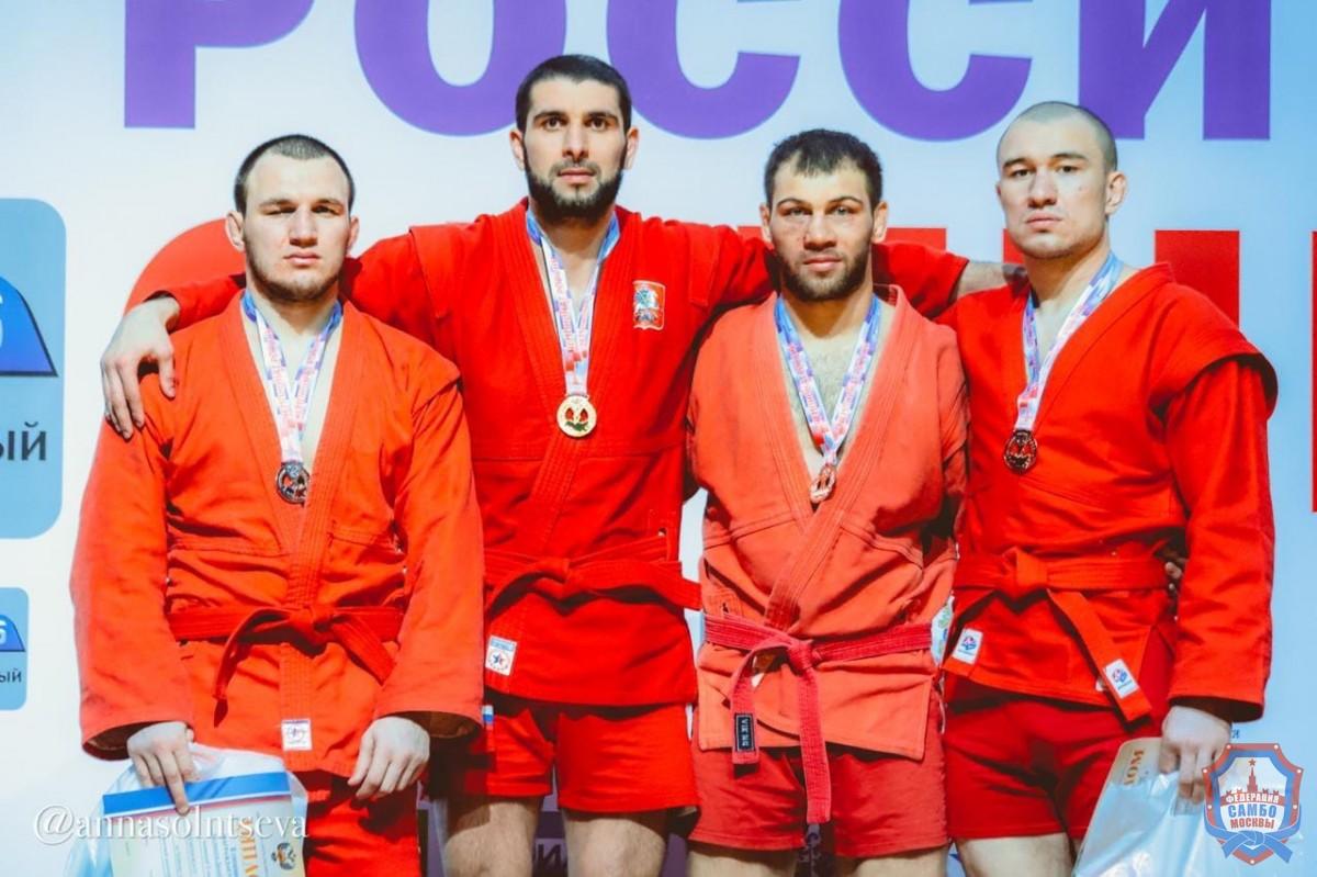 Московские самбисты во второй день чемпионата России завоевали 8 медалей