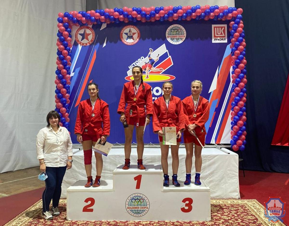 В Кстово завершился Кубок России по самбо