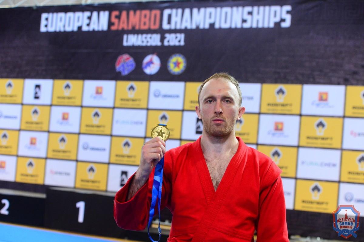 Две медали московских самбистов в первый день Чемпионата Европы