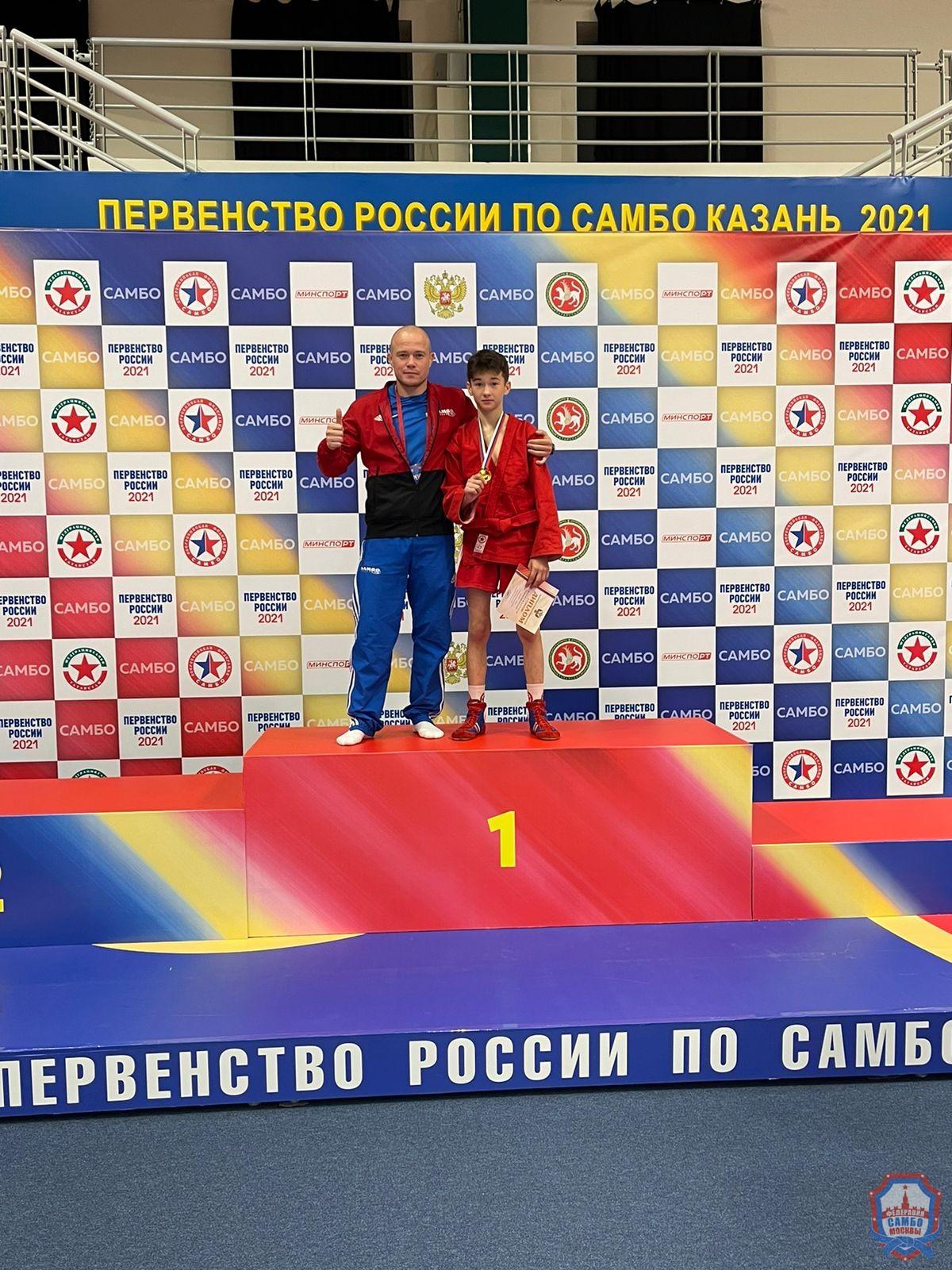 2 медали во второй день Первенства России по самбо в Казани