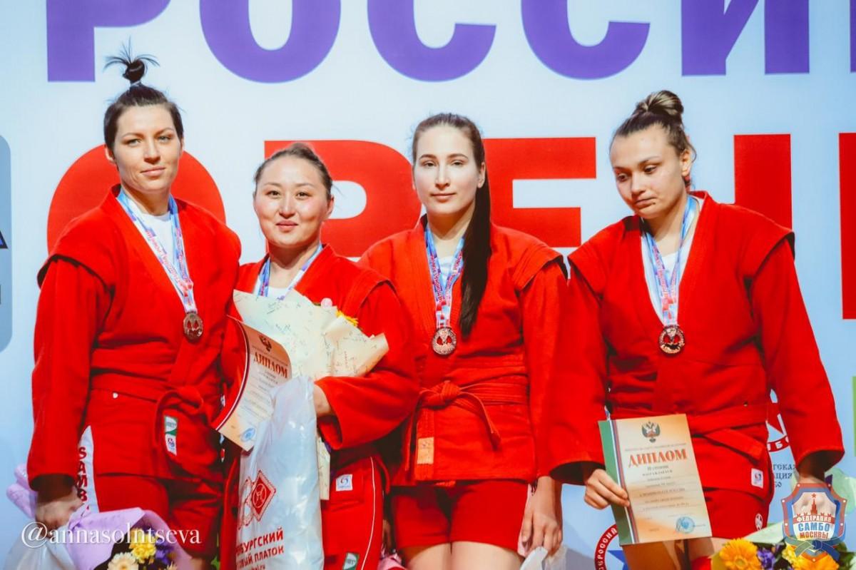 Завершился Чемпионат России по самбо в Оренбурге
