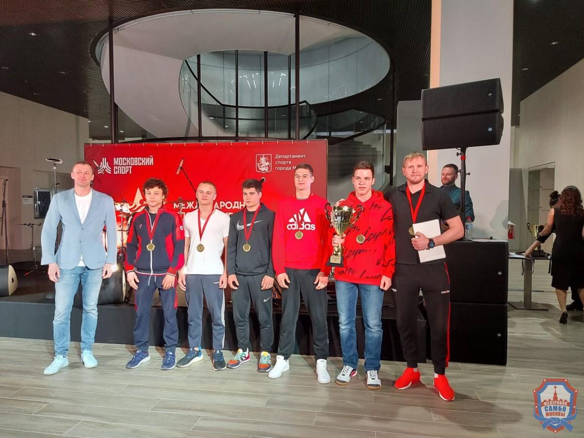 Команда Москвы — победитель Международных спортивных игр «Турнира городов-героев» по самбо