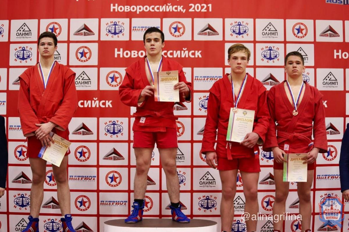 В Новороссийске прошло Первенство России по самбо среди юношей и девушек 14-16 лет