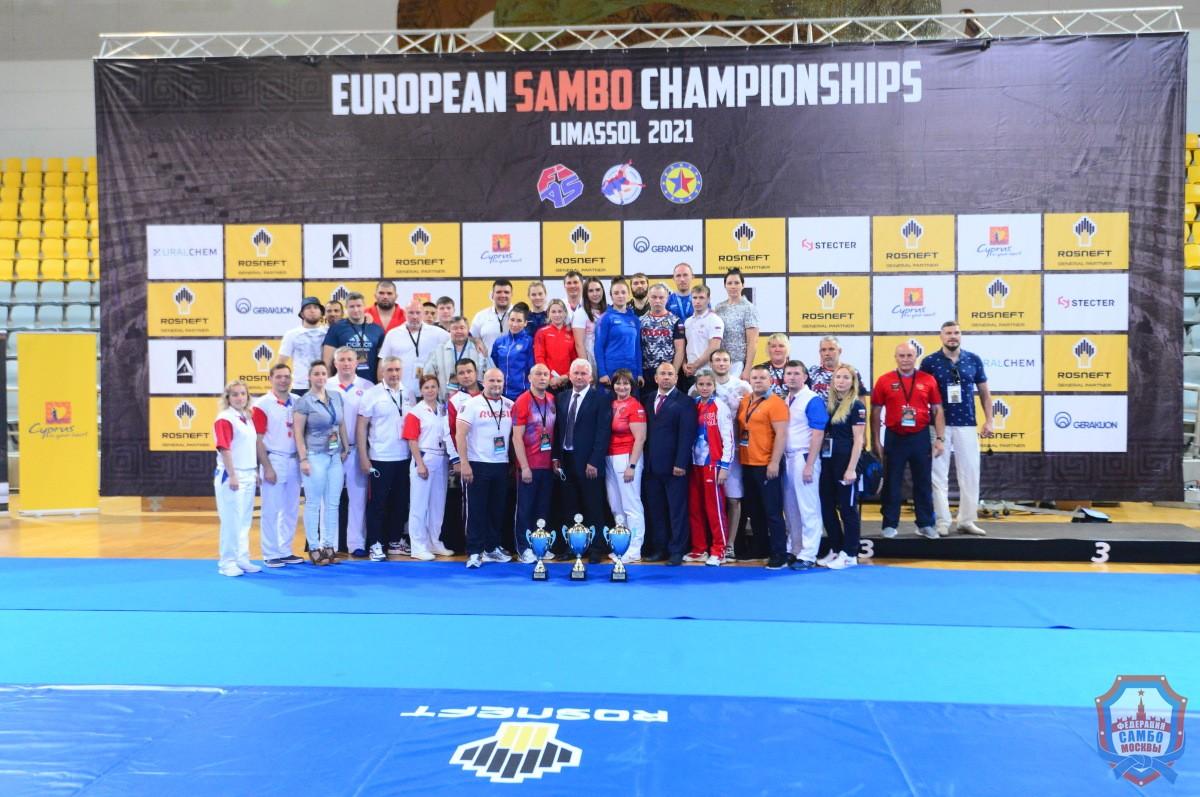 На Кипре завершился Чемпионат Европы по самбо
