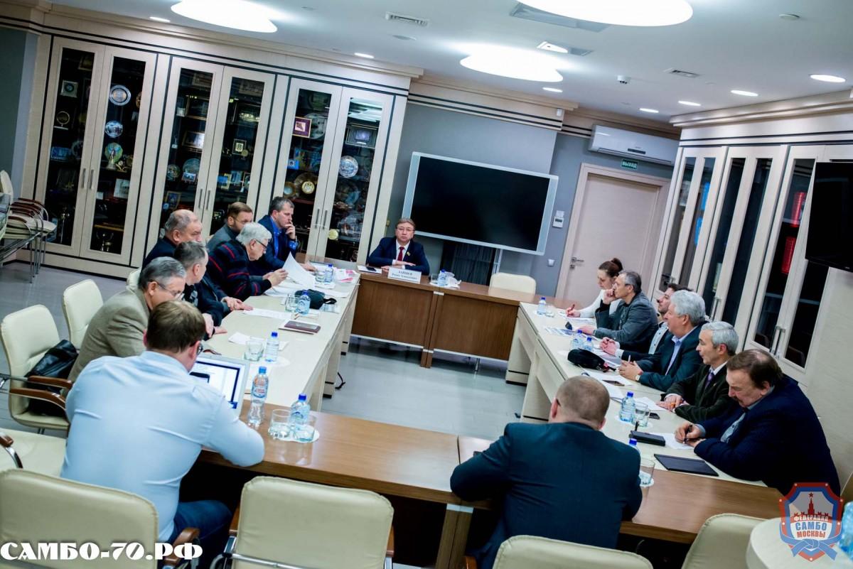 15 февраля состоялось заседание Президиума ФСМ