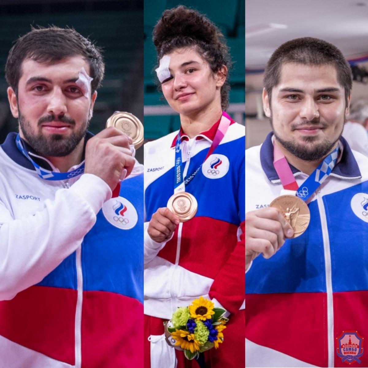 3 бронзовые медали на Олимпийских играх в Токио по дзюдо