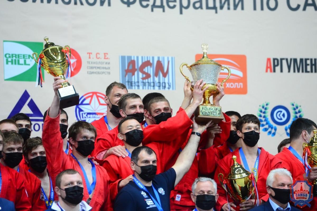 Сборная МВД - обладатель Кубка Президента Российской Федерации по самбо