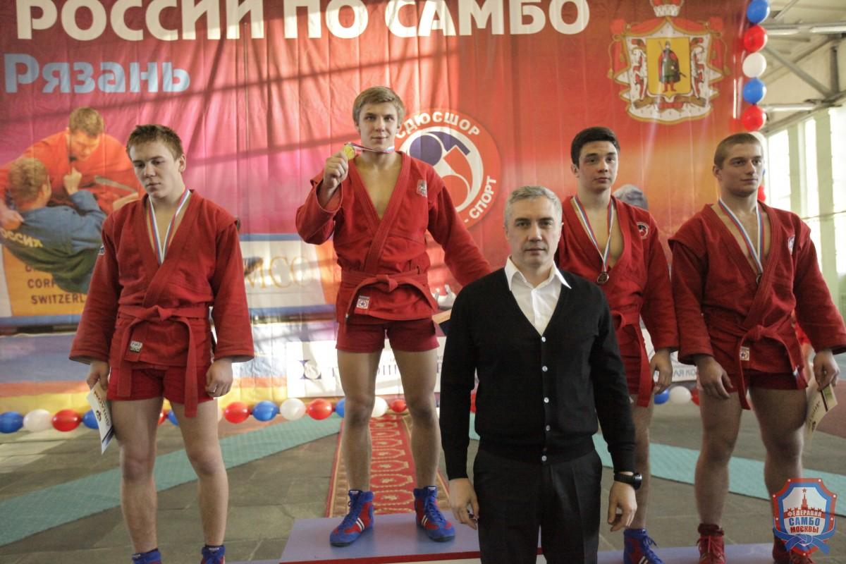 Пятеро юниоров изМосквы— всборной России посамбо!