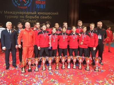 Вечерняя Москва: Московская команда посамбо победила наюношеском турнире между спортсменами изгородов-героев