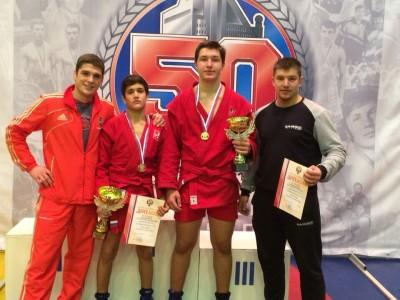 Два «золота» вовторой день первенства России среди юношей