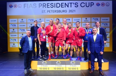 Кубок президента ФИАС по самбо прошел в Санкт-Петербурге