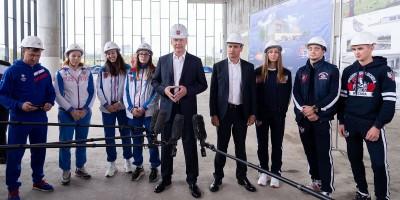 Сергей Собянин осмотрел строящиеся центры самбо и бокса в «Лужниках»
