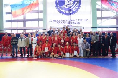 Всероссийский турнир напризы «Покорителей космоса» посамбо состоялся вМоскве