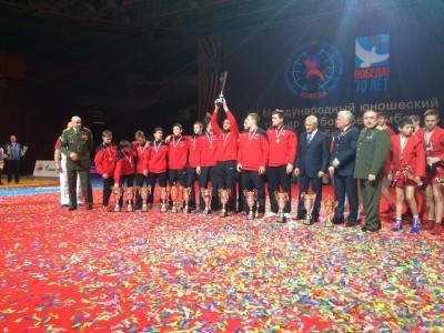 Команда города-героя Москвы одержала победу всуперфинале международного турнира «Победа»