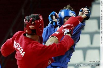 Сборная команда Москвы одержала победу начемпионате России побоевому самбо!