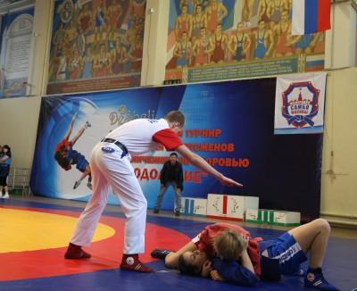 Открытый турнир посамбо для спортсменов сограничением поздоровью «Преодоление»
